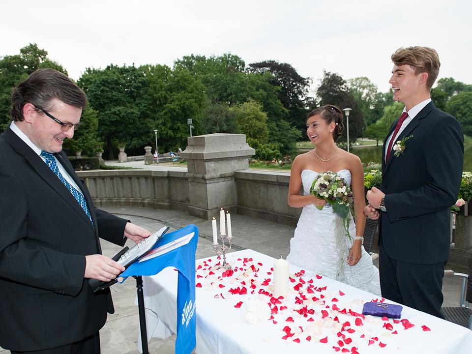 Hochzeit – Trauungszeremonie